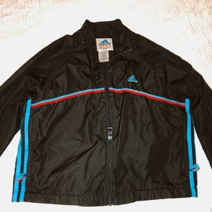 Vintage Adidas Cropped Windbreaker